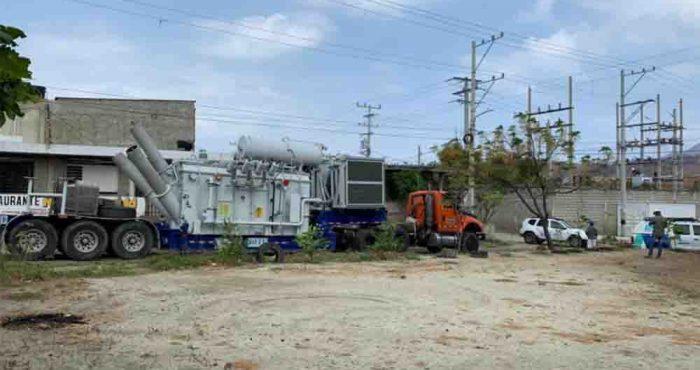 Air-e instala transformador móvil en la subestación Bonda