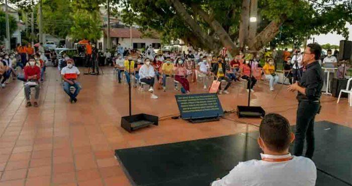Gobernador Carlos Caicedo anuncia 4 mil 500 Becas más y una universidad para El Banco y 5 municipios del Magdalena