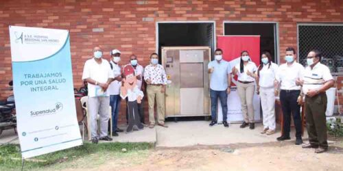 Drummond Ltd. entrega equipo al Hospital regional San Andrés del municipio de Chiriguaná, Cesar