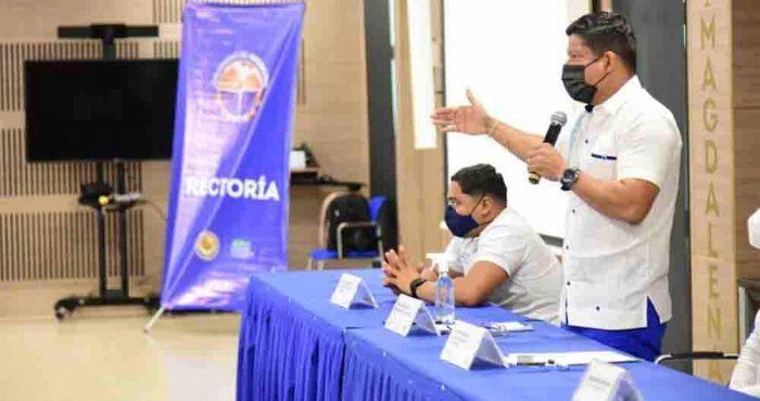UNIMAGDALENA lanzó programa para formación de líderes y movimientos estudiantiles